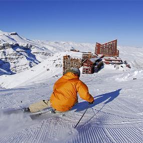 Ski en Valle Nevado