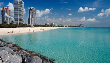 Miami Beach: Playa, Brisa y Mar