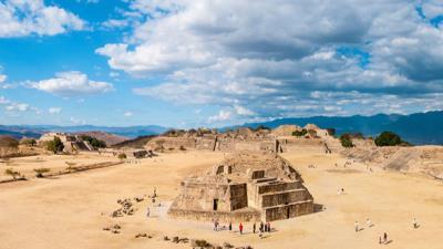 Ruta de Cortes  y Oaxaca